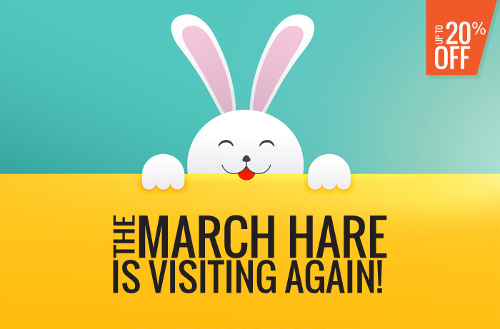 The March Hare is visiting again!